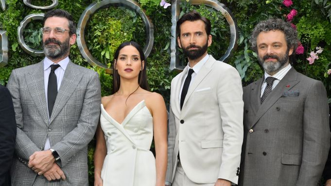 'Good Omens' TV show premiere, London, UK - 28 May 2019